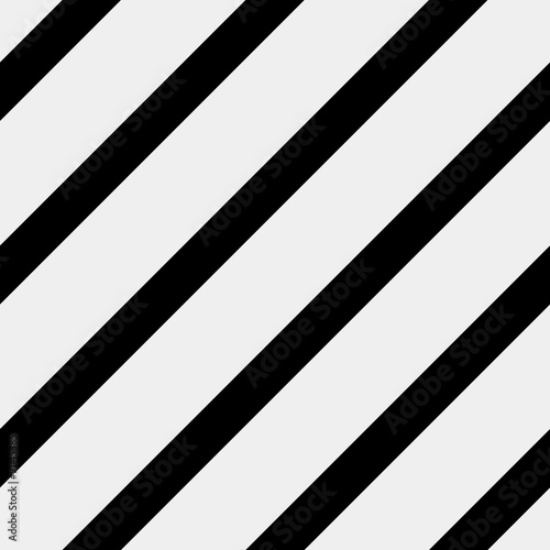 Vector seamless pattern. Modern stylish texture. Repeating geometric tiles with diagonal lines - stock vector - 91145385