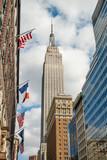 Fototapety New York City Manhattan midtown buildings skyline