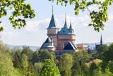 castle in Bojnice in the spring, Slovakia