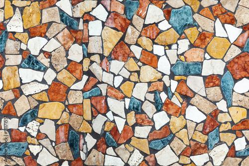 Bunte Mosaikartigkeit