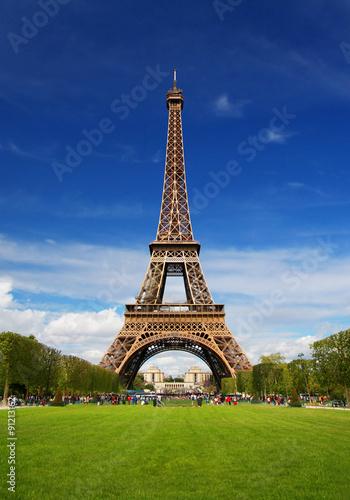 Papiers peints Tour Eiffel The Eiffel Tower in Paris