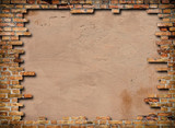 Fototapety cornice di mattoni