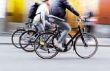 Fototapety Three men on bikes