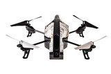 Quadri-copter drone poster