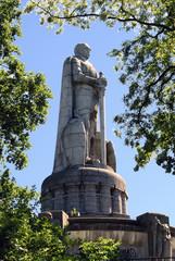 Bismarck-Denkmal, Hamburg. Denkmal für den ersten deutschen Reichskanzler Fürst Otto von Bismarck (1815-1898).