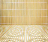bamboo table. bamboo napkin