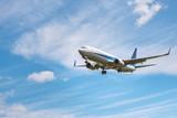 Fototapety 飛行する航空機