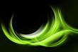 Green Light Abstract
