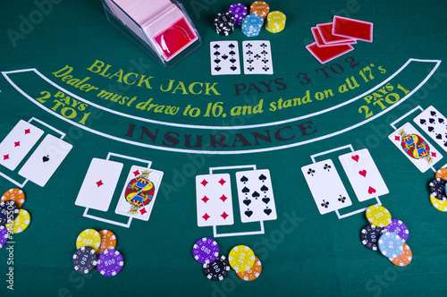 Black Jack плакат