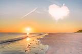 Sonnenuntergang am Strand - 91441151