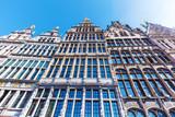 historische Gildehäuser am Grote Markt in Antwerpen, Belgien
