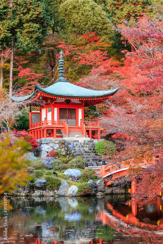 Fototapeta Daigo-ji is a Shingon Buddhist temple in Fushimi-ku.