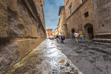 Beautiful nooks and crannies of the medieval Italian village in