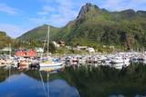 Lofoten, Norway - Svolvaer harbor