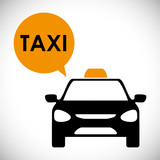 Fototapety Taxi service design