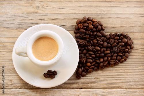 Poster Caffè degli innamorati