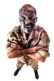 Enraged soldier poster