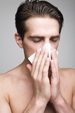 Runny nose in young men
