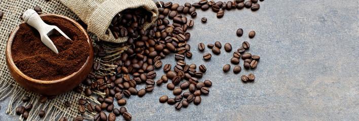 Fototapeta mielona kawa
