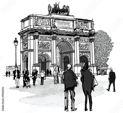 luk-triumfalny-w-paryzu-i-ogrod-tuileries-w-paryzu