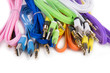 color wires with plugs