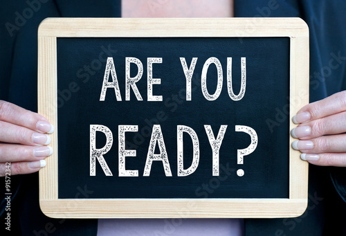Are you ready ? Poster