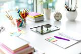 Fototapety Creative office desk
