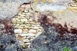 Mur fissuré poster