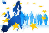 Migrants Europe poster