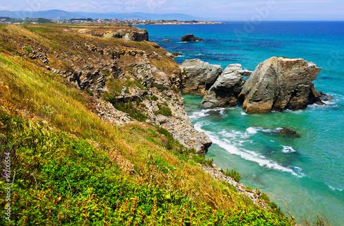 Fotobehang Rocky Atlantic coast of Spain