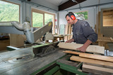 worker in joinery poster
