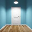 Room with door