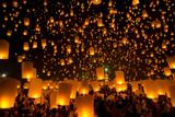 Fototapety Flying Sky Lantern
