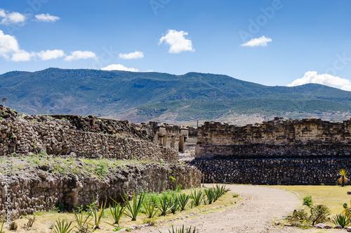 Archaeological site of Mitla in Mexico © rafalkubiak