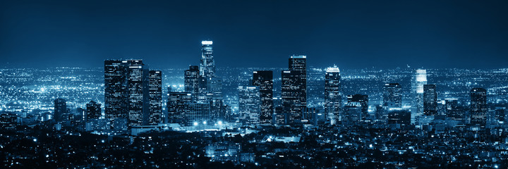 Los Angeles at night © rabbit75_fot