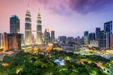 Fototapety Kuala Lumpur Skyline