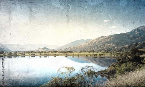 Fototapeta Natural landscape