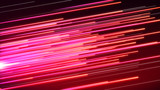 Fototapety Speed line Pink and red