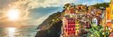 Riomaggiore panorama, Cinque Terre, Italy - 91841534
