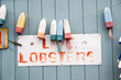 Faded Lobster Sign