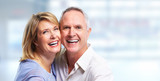 Fototapety Happy senior couple portrait.