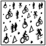 Isometric traffic icons