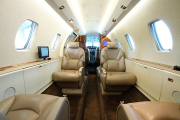 Business aircraft cabin