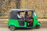 Fototapety Tuk Tuk in Sri Lanka