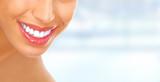 Fototapety Woman smile.