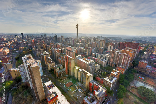 Fotografiet Hillbrow Tower - Johannesburg, South Africa