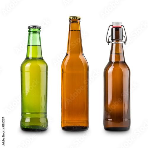 Poster Bottles of beer