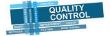 Quality Control Blue Stripes Keywords