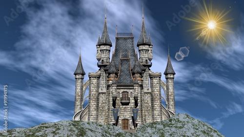 Castle - 3D render