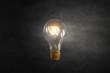 Glowing bulb